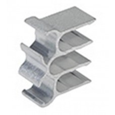 Accessories available for SolarRoof : Universal cable clip for PV panels for holding 6 cables