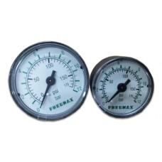 PRESSURE GAUGE 0-12 BAR Dia.40 mm.