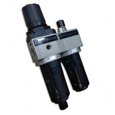 """FILTER PRESSURE REGULATOR G3/8"""" , 20µ ,0-12 BAR SIZE2"""